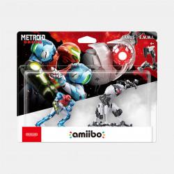 amiibo Samus and E.M.M.I Double Set Metroid Dread