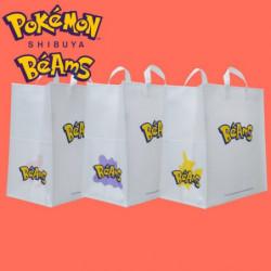 Paper Bag Set BEAMS Pokémon Shibuya Béams