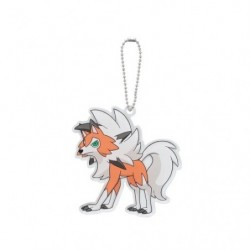 Keychain Lycanroc japan plush