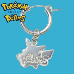 Silver Earrings Pikachu Pokémon Shibuya Béams