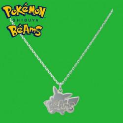 Silver Pendant Pikachu Pokémon Shibuya Béams
