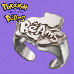 Silver Ring Mew Pokémon Shibuya Béams