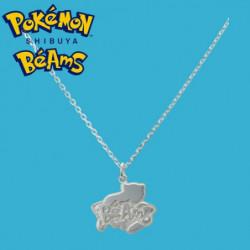 Silver Pendant Mew Pokémon Shibuya Béams