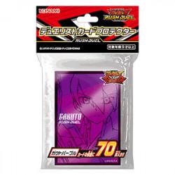 Protèges Cartes Gackt Purple YuGiOh Rush Duel