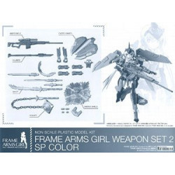 Figure Stylet Weapons Parts Set Frame Arms Girl Plastic Model