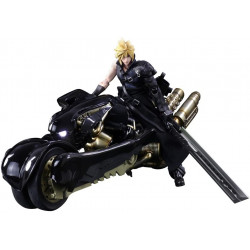 Figures Cloud Fenrir Set Final Fantasy VII Advent Children PLAY ARTS