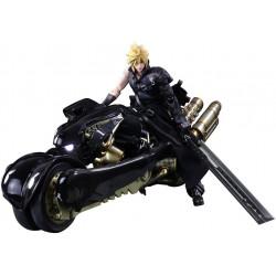 Figurines Cloud Fenrir Set Final Fantasy VII Advent Children PLAY ARTS