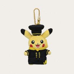 Plush Keychain Pikachu Pastry Chef Pokémon Café