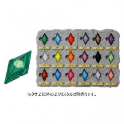 Pokemon Z Crystal Collection Tableau japan plush