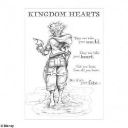Wall Sticker Sora Kingdom Hearts III
