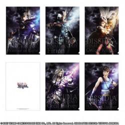 Clear File Set A Dissidia Final Fantasy 30th Anniversary Exhibition