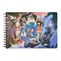 A5 Book Note Ultra Alola Adventure japan plush