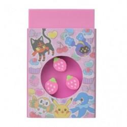 Mini Eraser Pokemame Time japan plush