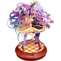 Figurine Shiro and  Schwi No Game No Life  Zero