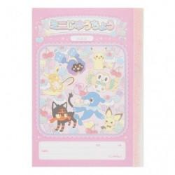 Mini Note Book Pokemame Time japan plush