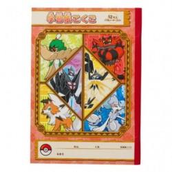 Note Book Pokemon Red japan plush