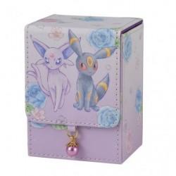 Deck Box Espeon & Umbreon japan plush