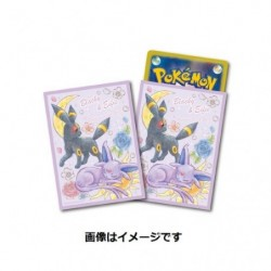 Card Sleeves Espeon & Umbreon japan plush