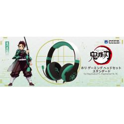 Gaming Headset Standard Tanjiro Kamado Kimetsu No Yaiba HORI