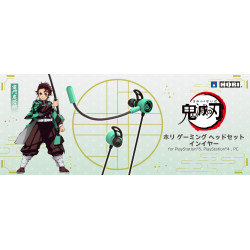 Gaming Headset Intra Tanjiro Kamado Kimetsu No Yaiba HORI