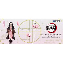 Gaming Headset Intra Nezuko Kamado Kimetsu No Yaiba HORI