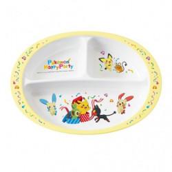 Melamine Lunch Plate Pokémon Happy Party