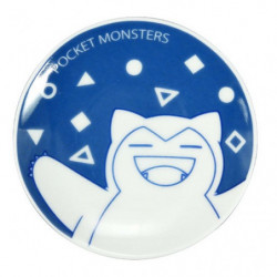 Plate Bean Dish Snorlax Pocket Monsters
