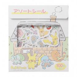 Assorted Stickers Pokémon Repoto Kaitene!