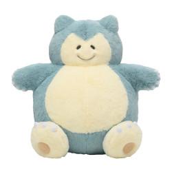 Plush Snorlax Pokémon Repoto Kaitene!
