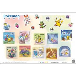 Stamps Set 1 Pokémon