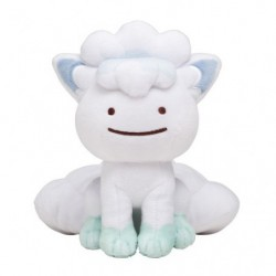 Plush Transformation Ditto Alola Vulpix japan plush