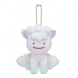 Mascot Keychain Transformation Ditto Alola Vulpix japan plush