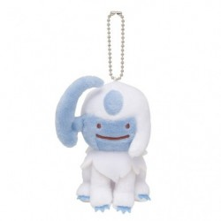 Mascot Keychain Transformation Ditto Absol japan plush