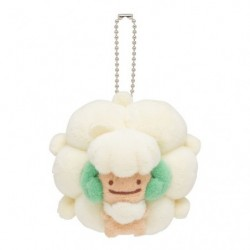 Mascot Keychain Transformation Ditto Whimsicott japan plush