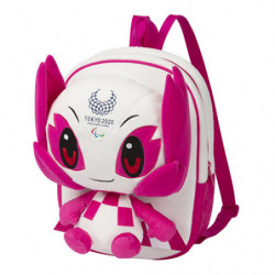 Plush Backpack Someity Tokyo 2020 Paralympics