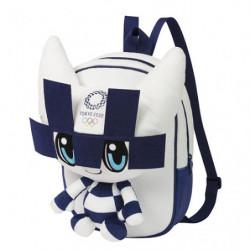 Plush Backpack Miraitowa Tokyo 2020 Olympics