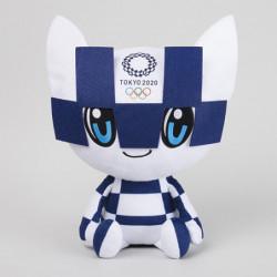 Peluche Miraitowa L Tokyo 2020 Olympics