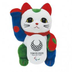 Plush Beckoning Cat Tokyo 2020 Paralympics