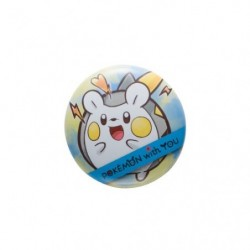 Badge TOGEDEMARU with YOU japan plush