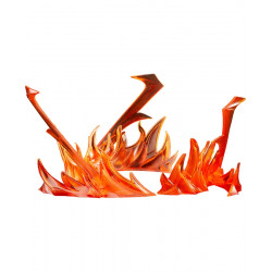 MODEROID Red Flame Effect Plastic Model