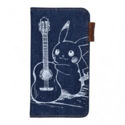 Smartphone Cover Pikachu Denim japan plush