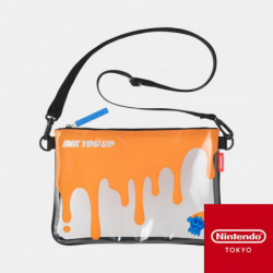 Clear Pouch Splatoon INK YOU UP