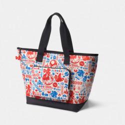 Folding Tote Bag Original Travel Pattern Super Mario