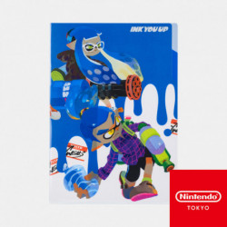 Clear File B Splatoon INK YOU UP