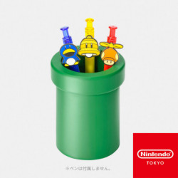 Étui à Stylos Tuyau Vert Super Mario