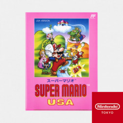 Double Pochette Transparente Super Mario USA
