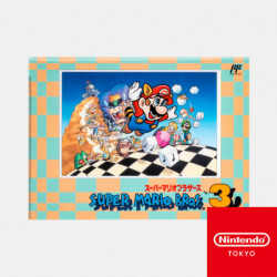 Double Pochette Transparente Super Mario Bros. 3