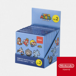 Keychains Power Up Collection Vol.02 Super Mario Box