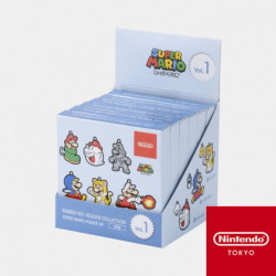 Keychains Power Up Collection Vol.01 Super Mario Box