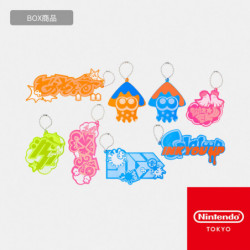 Keychains Collection Box Splatoon INK YOU UP